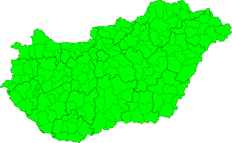 Aktuelle Unwetterwarnungen Magyarország