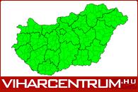 Aktuális időjárási riasztások Magyarországon